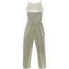 Sleeveless Cropped Jumpsuit - Other -
