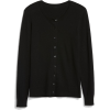 Slim Crewneck Cardigan Sweater - Veste -