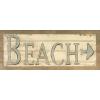 beach - 插图用文字 -