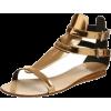 gladiator flat sandal - Sandale -