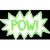 pow  text cloud - Testi -