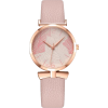 Small Lady Leaf Pattern Ladies Quartz Watch Trend Thin Belt Casual Watch - Watches -