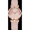 Small Lady Leaf Pattern Ladies Quartz Watch Trend Thin Belt Casual Watch - Watches -