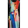 Smashed Lemon Print Dress - Dresses -