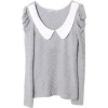 Romwe t-shirt - Long sleeves t-shirts -
