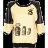 Romwe t-shirt - Camisetas manga larga -