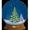 Snow Globe - Ilustracije -