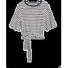 Softspun Short Sleeve Wrap-Belt Top - T-shirts -