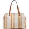 Sole Society Stripe Print Tote - Hand bag -