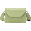 Solid color casual small square bag simp - Messenger bags - $22.99
