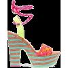 Sophia Webster Neon Platform Sandals - Sandale - £215.00  ~ 242.97€