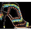 Sophia Webster tribal mule shoes - Sandale -