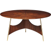 """Soul"" Wood and Metal Contemporary Table - Furniture -"