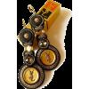 Soutache Earrings from Authentic buttons - Earrings -