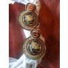 Soutache earrings from buttons. - Earrings -