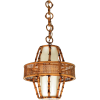 Spanish Modern rattan lighting 1950s - Свет -