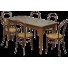 Spanish dining set designed c 1890-1919 - Furniture -