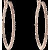 Sparkling Rosé Hoop Earrings - Earrings -