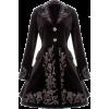 Spin Doctor Victorian Black coat - Kurtka -
