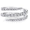 Spiral Diamond Ring - ブレスレット -