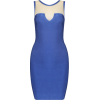 Splice Sexy Bandage Dress - Dresses - $105.00