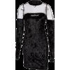 Splicing long sleeve hip dress - Dresses - $25.99
