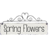 Spring Flowers Text - Texts -