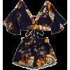 Floral Top+Shorts Set - Camicie (corte) - $26.00  ~ 22.33€
