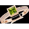 Square Peridot Ring - Prstenje - $419.00  ~ 359.87€