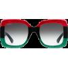Square-frame acetate sunglasses - Sunčane naočale - $540.00  ~ 463.80€
