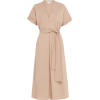 St Agni Tan Midi Dress - Dresses -