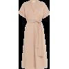St Agni Tan Midi Dress - Vestidos -