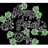 St. Patrick's Day - Texte -