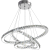 Stacked Bling Rings Chandelier - Luzes -