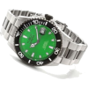 Stainless Steel Pro Diver Automatic Green Dial Rotating Black Belzel - Orologi - $118.59  ~ 101.86€