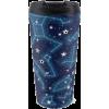 Star travel mug by Audrey Bowen - Items -
