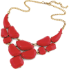 Statement RED Necklace - BOOJI - Necklaces -