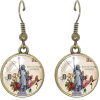 Statue of Liberty Earrings - Earrings -