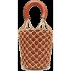 Staud Moreau macramé and leather bucket - Hand bag -