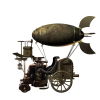 Steampunk - Vehicles -
