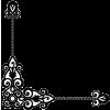 Steampunk style illustration corner - Frames -