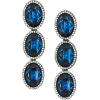 Stella McCartney Blue Stone earrings - Earrings -