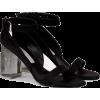 Stella McCartney Plexi Heeled Sandal - Sandals -