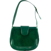 Steve Grindley Green Shoulder Bag - Messenger bags -