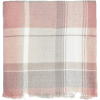 Stradivarius Pale Pink Check Scarf - Scarf -