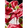 Strapless Floral Jacquard Midi Dress - Illustrations - $3,450.00