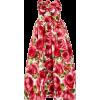 Strapless Floral Jacquard Midi Dress - Haljine - $3,450.00  ~ 2,963.15€