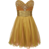 Strapless Layered Mesh Mini Dress with Beaded Sweetheart Neckline Junior Plus Size Sage/Pink - Dresses - $121.99
