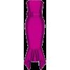Strapless Belted Dress - Dresses -