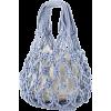 Straw Bag Cotton Thread Woven Bag - Bolsas pequenas -